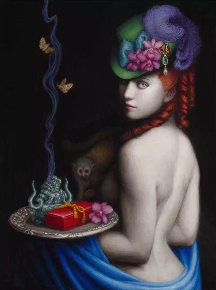 神话里神秘的女孩,神秘新奇 怀旧感性插图67