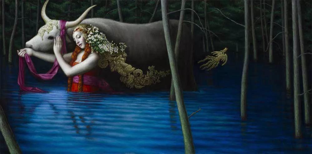 神话里神秘的女孩,神秘新奇 怀旧感性插图83