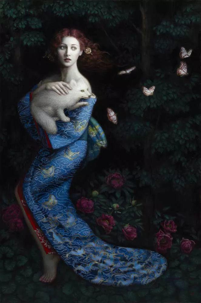 神话里神秘的女孩,神秘新奇 怀旧感性插图85