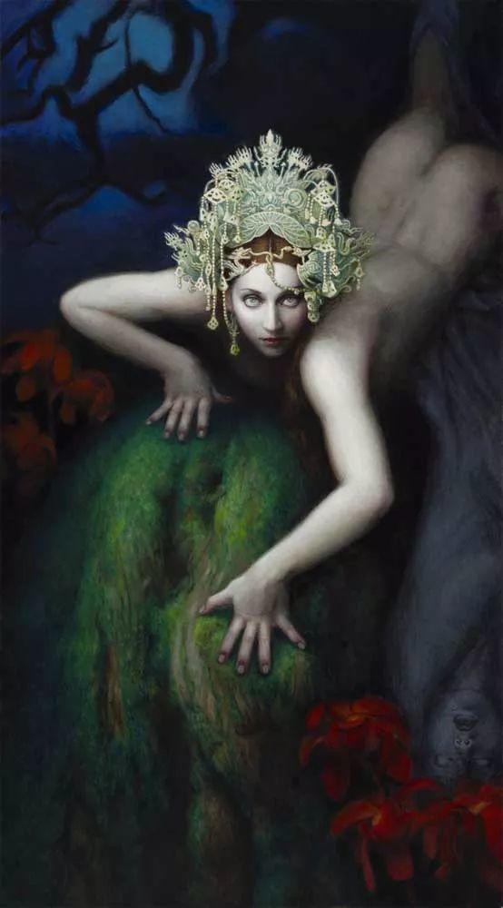 神话里神秘的女孩,神秘新奇 怀旧感性插图87