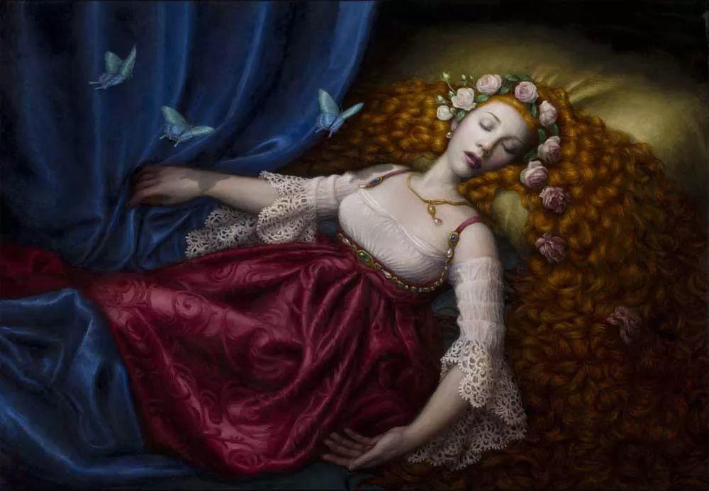 神话里神秘的女孩,神秘新奇 怀旧感性插图91