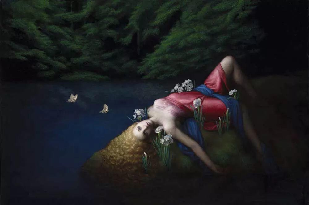 神话里神秘的女孩,神秘新奇 怀旧感性插图93