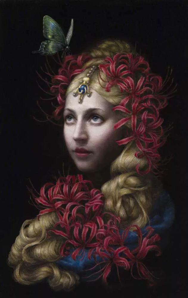 神话里神秘的女孩,神秘新奇 怀旧感性插图95