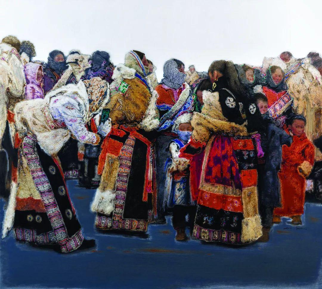 第十三届全国美展·油画作品展595幅 (全部)插图5
