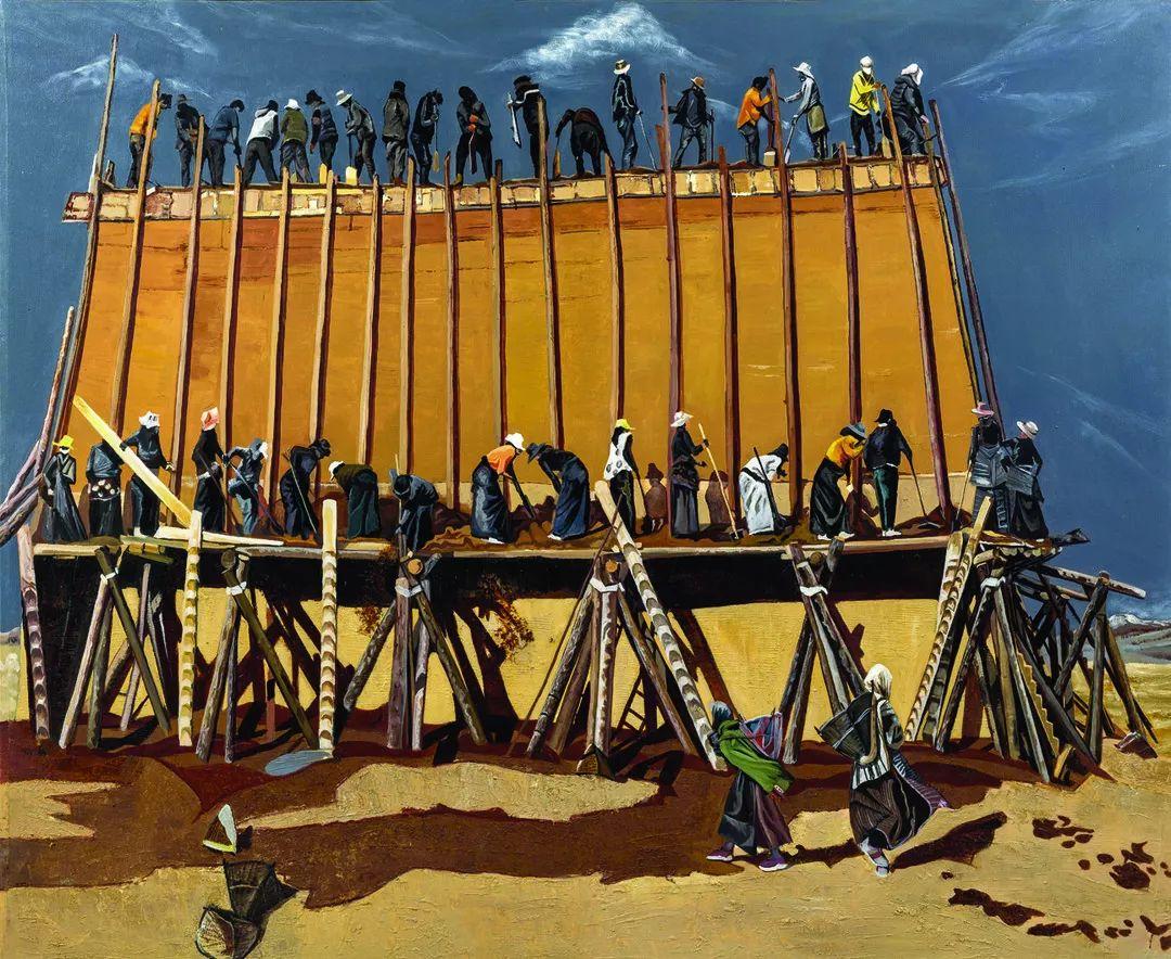 第十三届全国美展·油画作品展595幅 (全部)插图14
