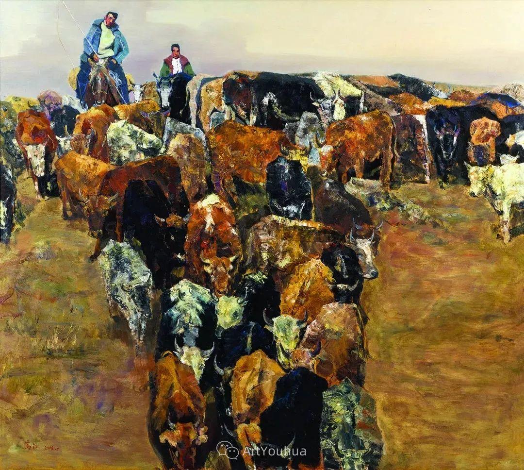 第十三届全国美展·油画作品展595幅 (全部)插图27