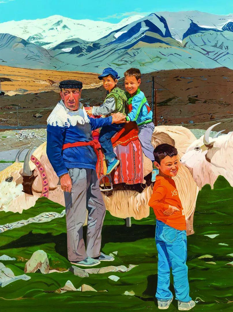 第十三届全国美展·油画作品展595幅 (全部)插图29