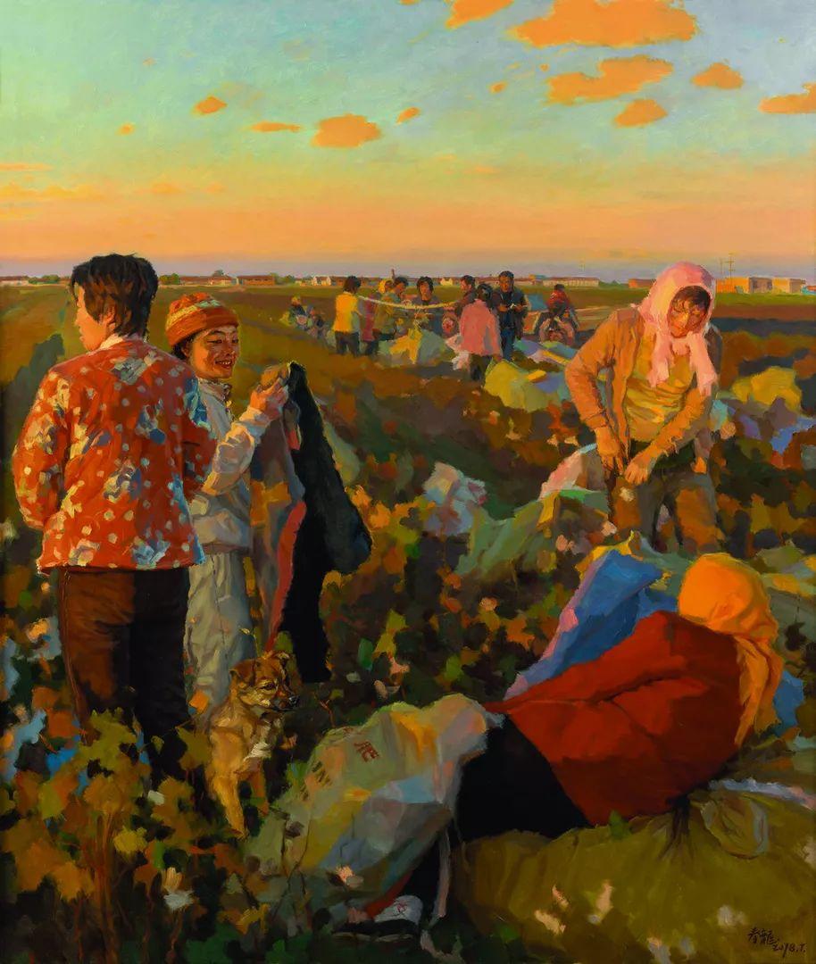 第十三届全国美展·油画作品展595幅 (全部)插图49
