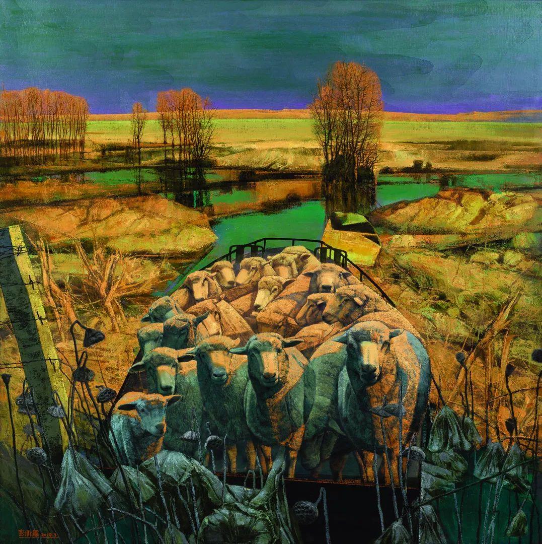 第十三届全国美展·油画作品展595幅 (全部)插图54