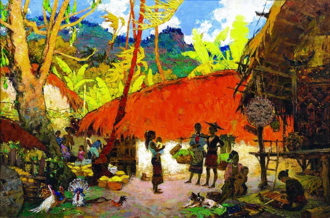 第十三届全国美展·油画作品展595幅 (全部)插图61