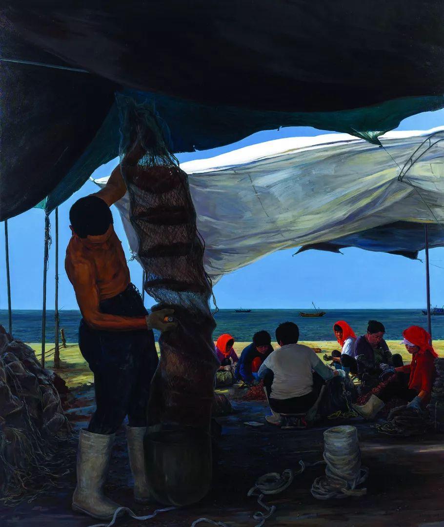 第十三届全国美展·油画作品展595幅 (全部)插图72