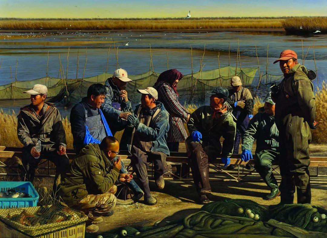 第十三届全国美展·油画作品展595幅 (全部)插图102