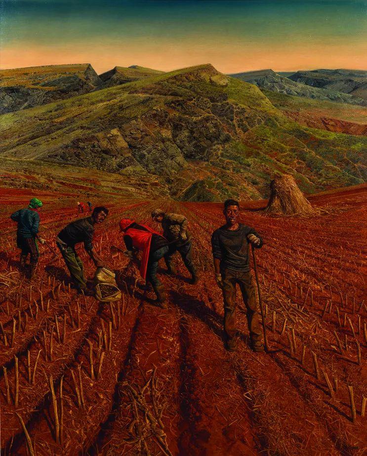 第十三届全国美展·油画作品展595幅 (全部)插图108