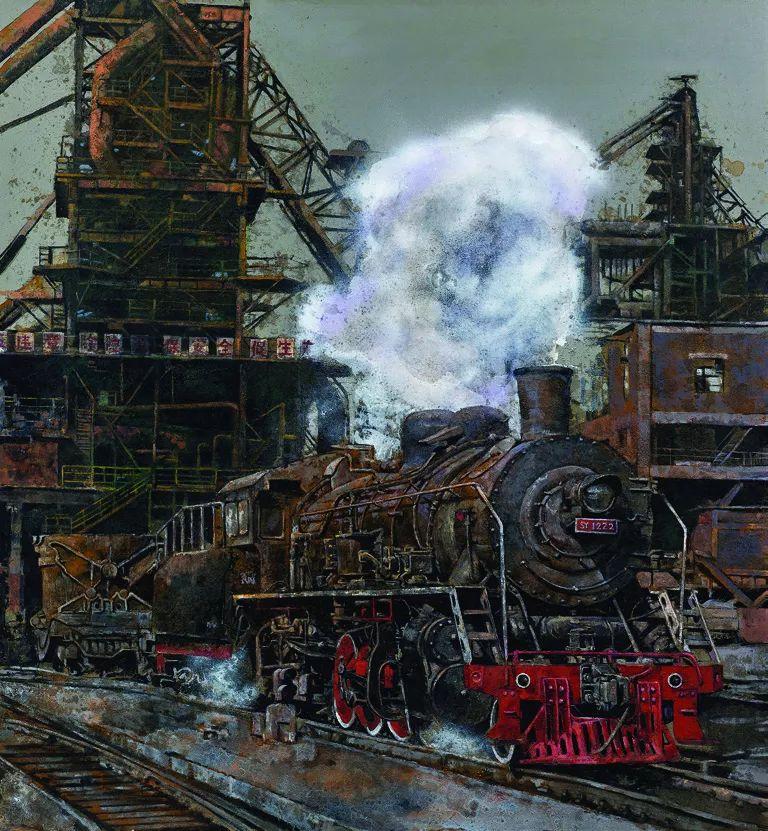 第十三届全国美展·油画作品展595幅 (全部)插图136