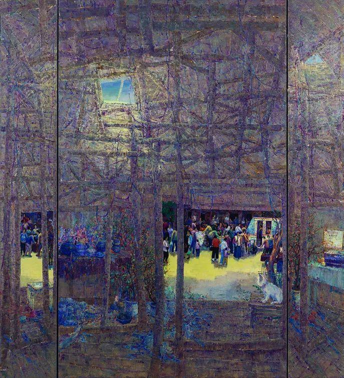 第十三届全国美展·油画作品展595幅 (全部)插图156