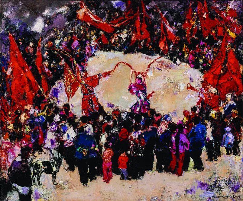 第十三届全国美展·油画作品展595幅 (全部)插图160