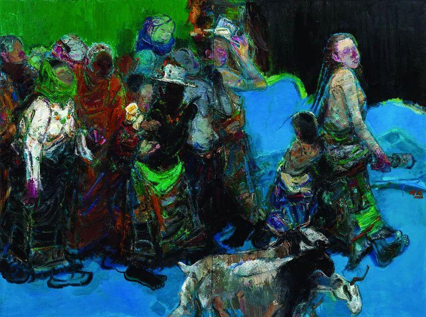 第十三届全国美展·油画作品展595幅 (全部)插图172