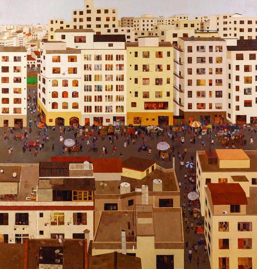 第十三届全国美展·油画作品展595幅 (全部)插图174