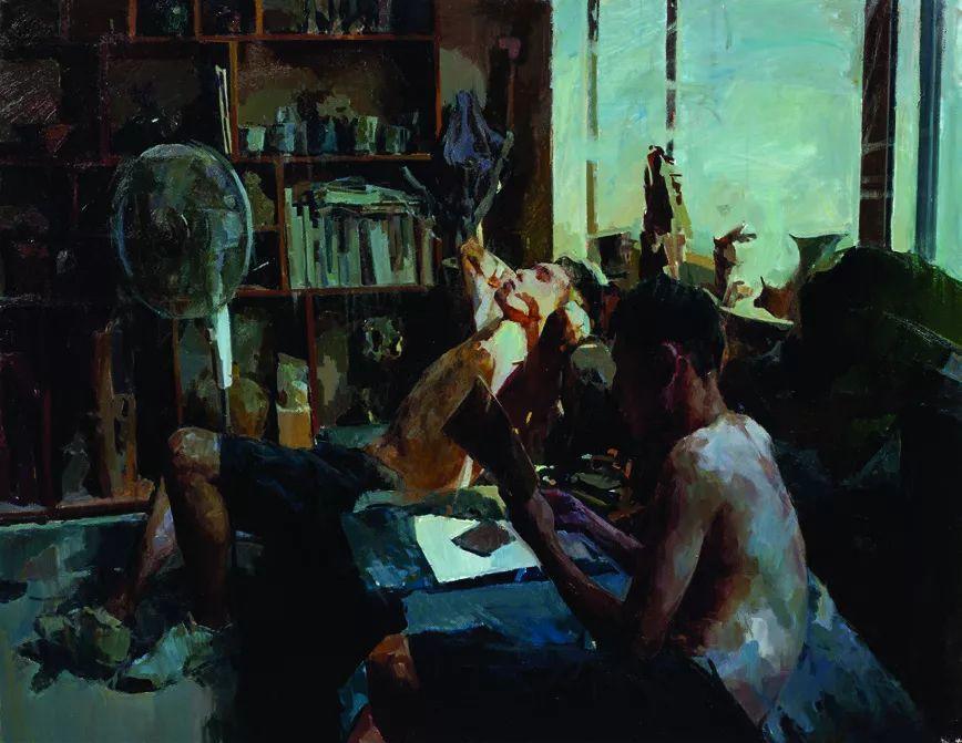 第十三届全国美展·油画作品展595幅 (全部)插图192