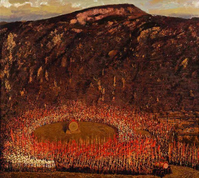 第十三届全国美展·油画作品展595幅 (全部)插图207