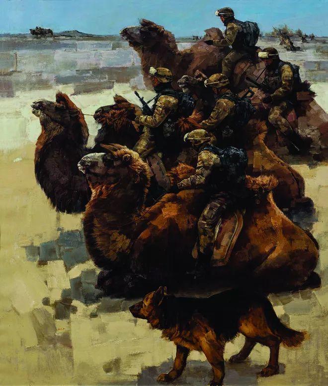 第十三届全国美展·油画作品展595幅 (全部)插图225