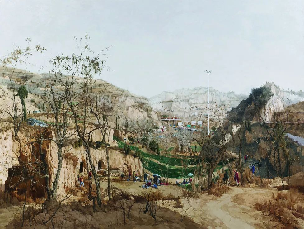 第十三届全国美展·油画作品展595幅 (全部)插图229
