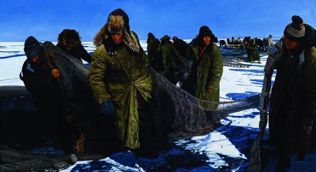 第十三届全国美展·油画作品展595幅 (全部)插图237