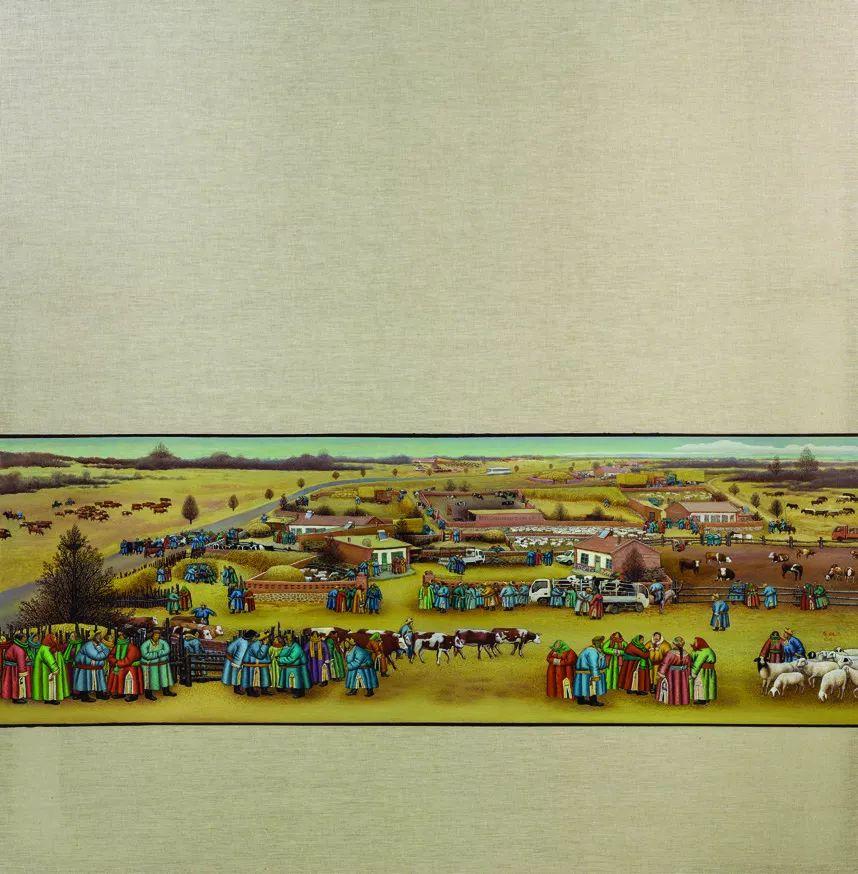 第十三届全国美展·油画作品展595幅 (全部)插图243