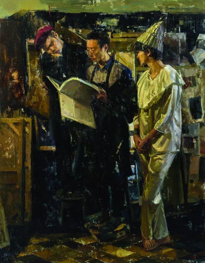 第十三届全国美展·油画作品展595幅 (全部)插图255