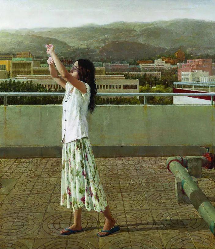 第十三届全国美展·油画作品展595幅 (全部)插图256