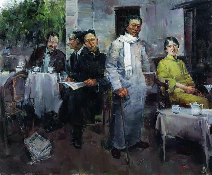 第十三届全国美展·油画作品展595幅 (全部)插图258
