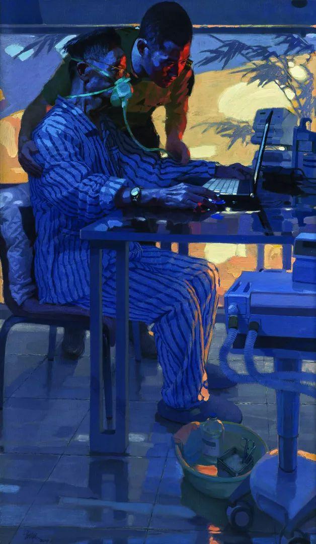 第十三届全国美展·油画作品展595幅 (全部)插图306