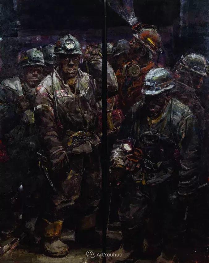 第十三届全国美展·油画作品展595幅 (全部)插图308