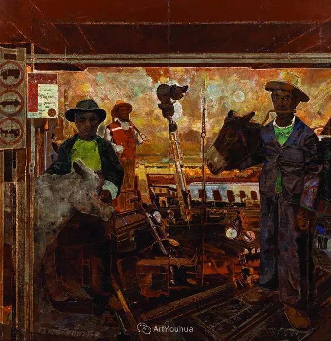 第十三届全国美展·油画作品展595幅 (全部)插图314