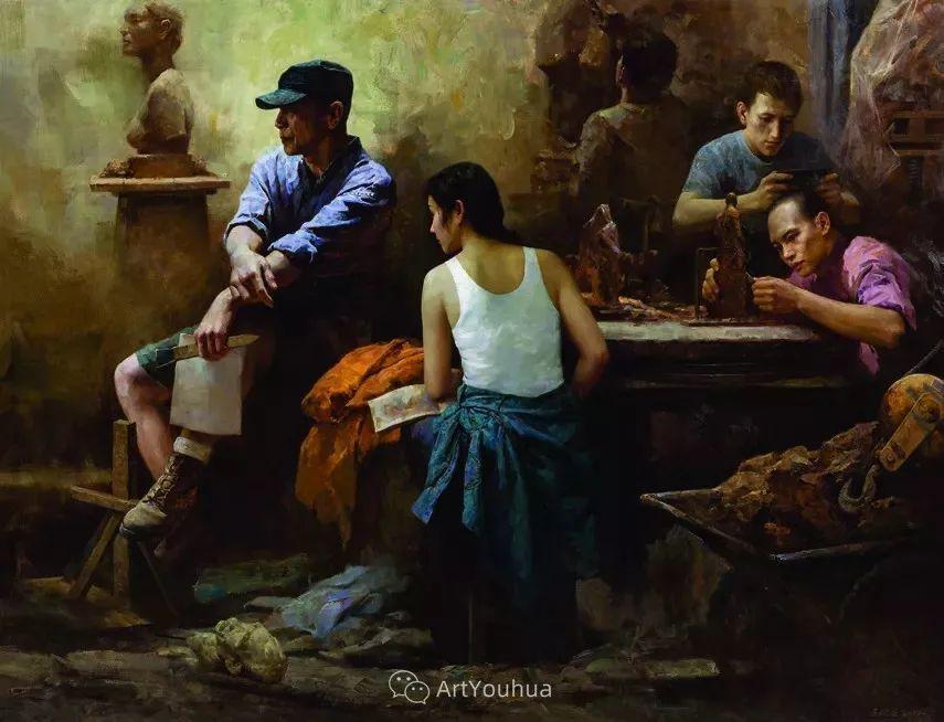 第十三届全国美展·油画作品展595幅 (全部)插图318
