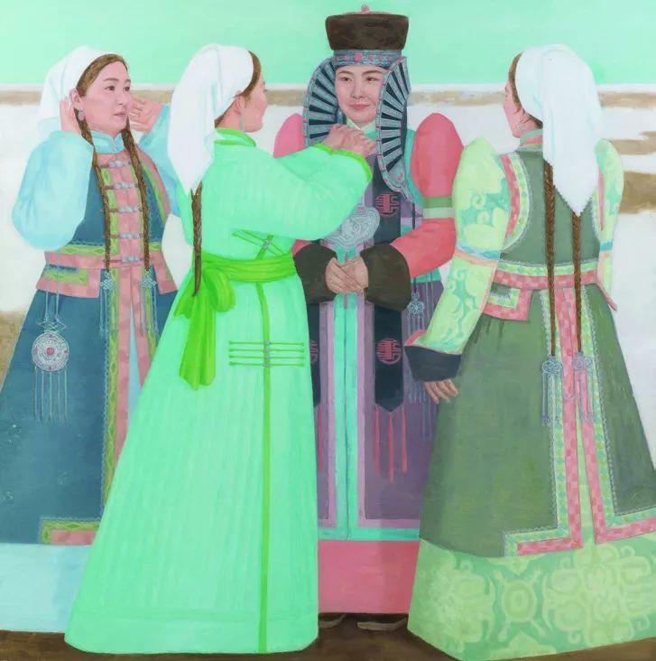 第十三届全国美展·油画作品展595幅 (全部)插图332