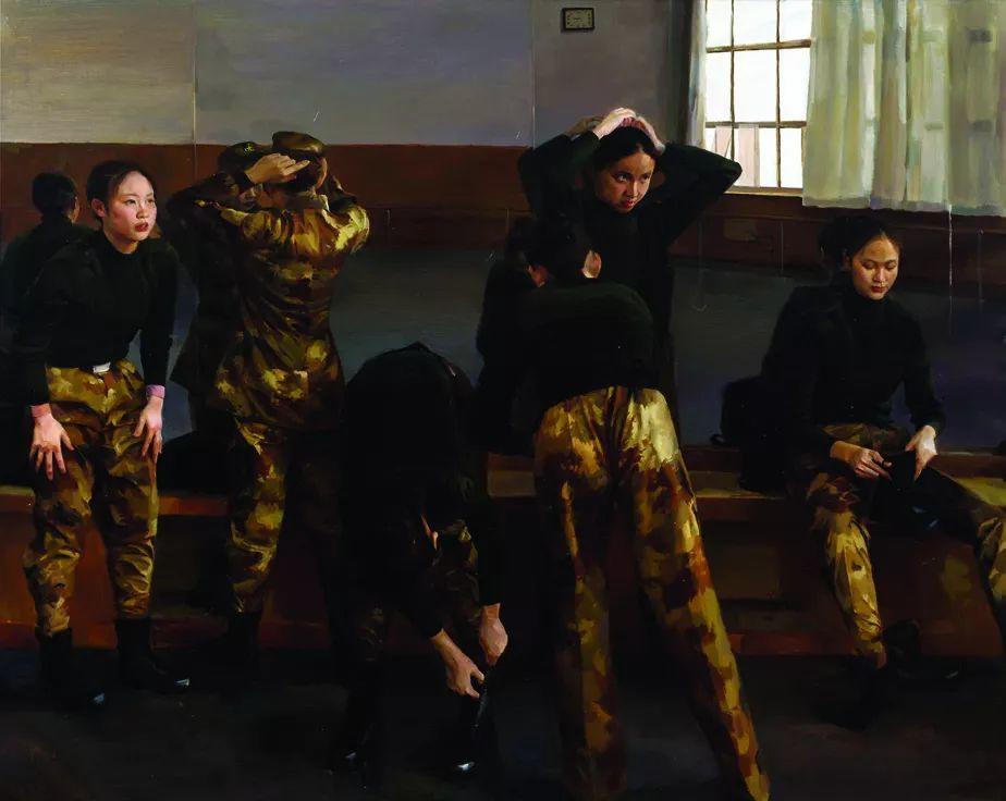 第十三届全国美展·油画作品展595幅 (全部)插图344