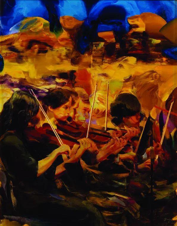 第十三届全国美展·油画作品展595幅 (全部)插图354