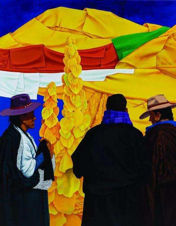 第十三届全国美展·油画作品展595幅 (全部)插图355