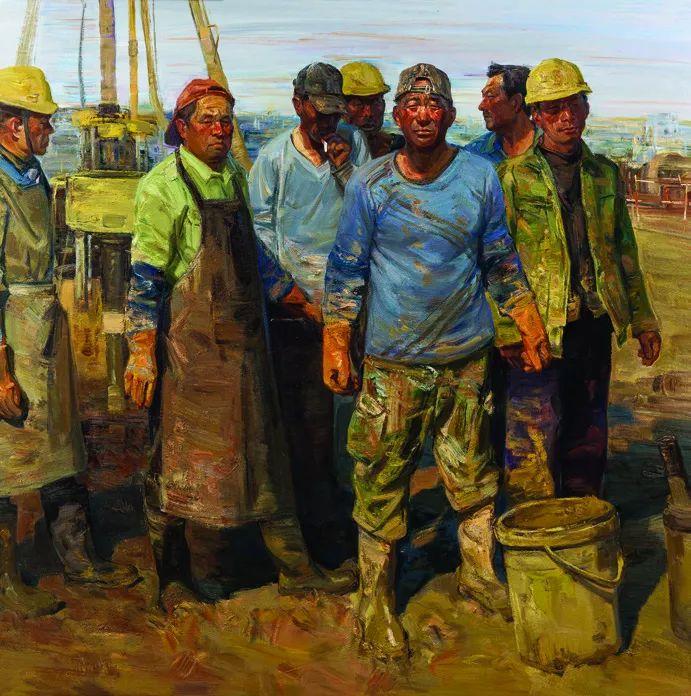 第十三届全国美展·油画作品展595幅 (全部)插图357
