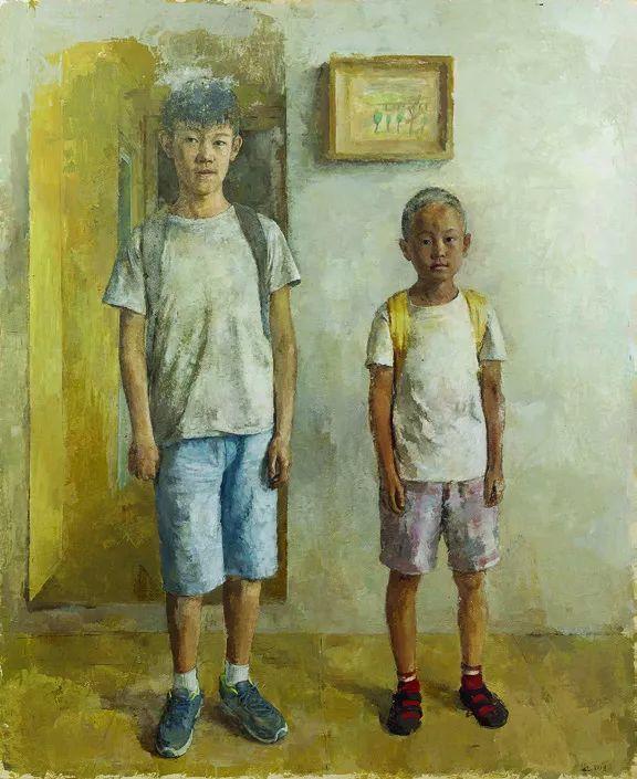 第十三届全国美展·油画作品展595幅 (全部)插图366