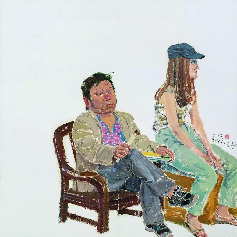 第十三届全国美展·油画作品展595幅 (全部)插图368