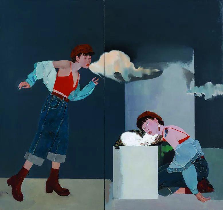 第十三届全国美展·油画作品展595幅 (全部)插图369
