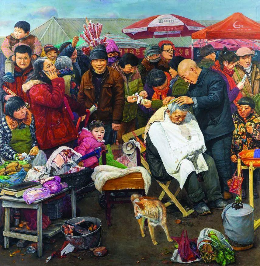 第十三届全国美展·油画作品展595幅 (全部)插图374