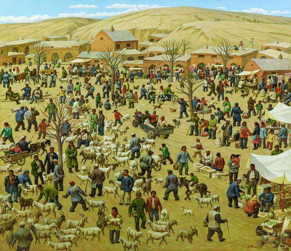 第十三届全国美展·油画作品展595幅 (全部)插图376