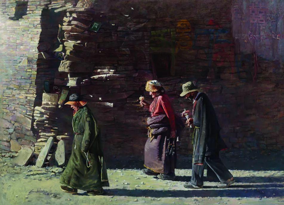 第十三届全国美展·油画作品展595幅 (全部)插图377