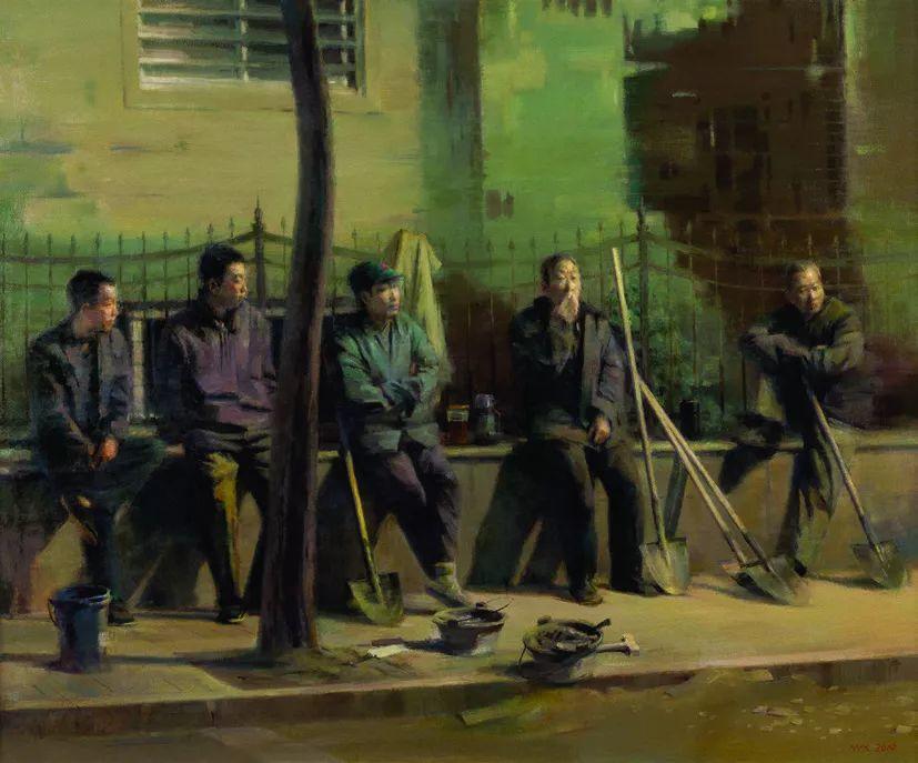 第十三届全国美展·油画作品展595幅 (全部)插图393