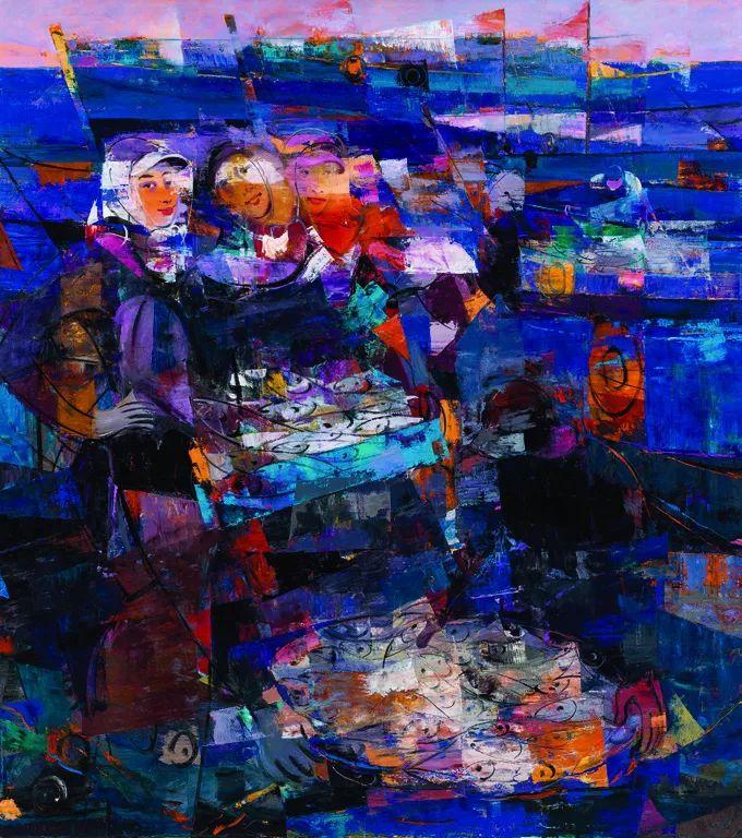 第十三届全国美展·油画作品展595幅 (全部)插图394