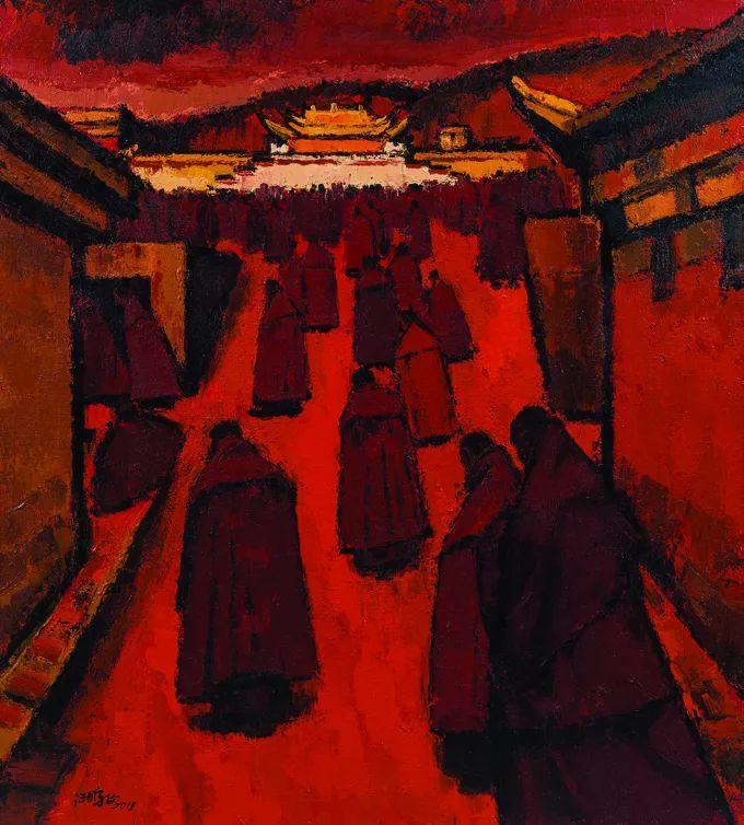 第十三届全国美展·油画作品展595幅 (全部)插图395