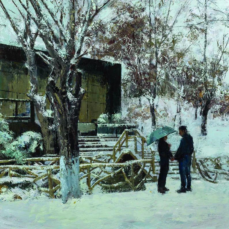 第十三届全国美展·油画作品展595幅 (全部)插图408